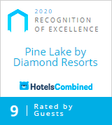 Hotels Combined Recognition of Excellence 2020 | Pine Lake Resort