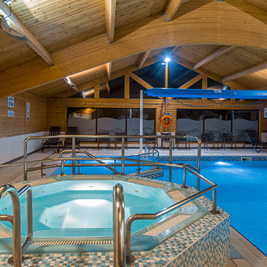 Spa Facilities | Pine Lake Resort, Lancashire
