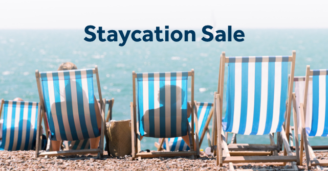 Save 20% in the Staycation Sale