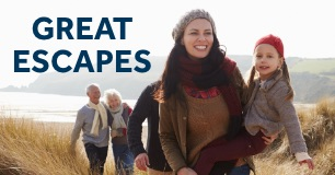 15% Off Great British Escapes