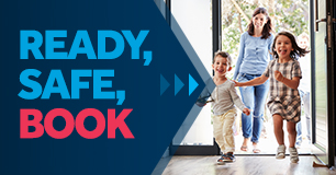 Ready, Safe, Book | 15% Off